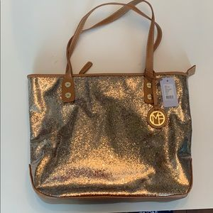 Marc Fisher Gold Tote